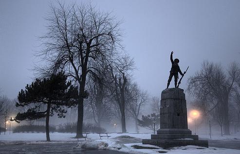 War Memorial in Kingston