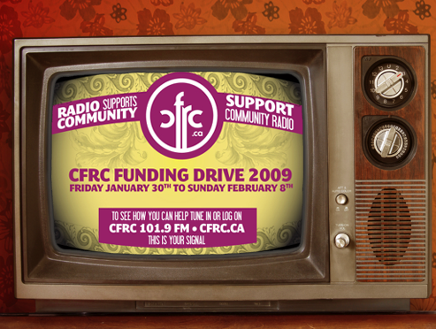 CFRC Fundraising Drive
