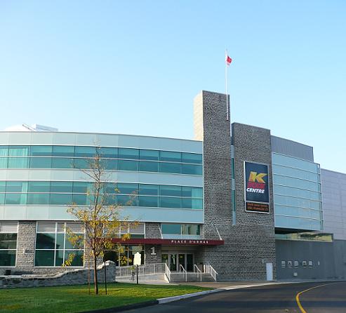 K-Rock Centre Sign
