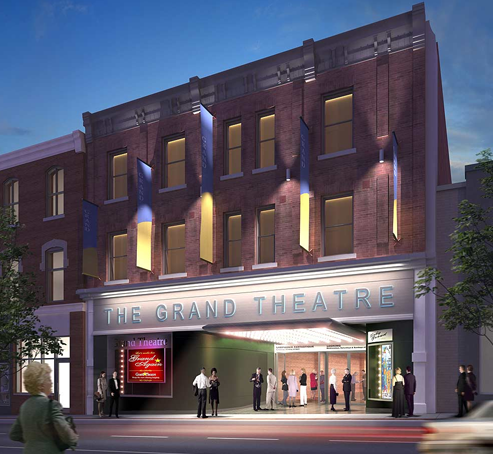 Rendering of the Grand Theatre