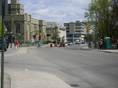 Union St. and Univeristy Ave