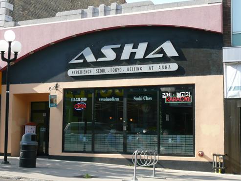 Asha Sushi Kingston