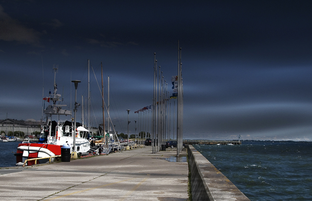 Portsmouth Olympic Harbour, storm width=