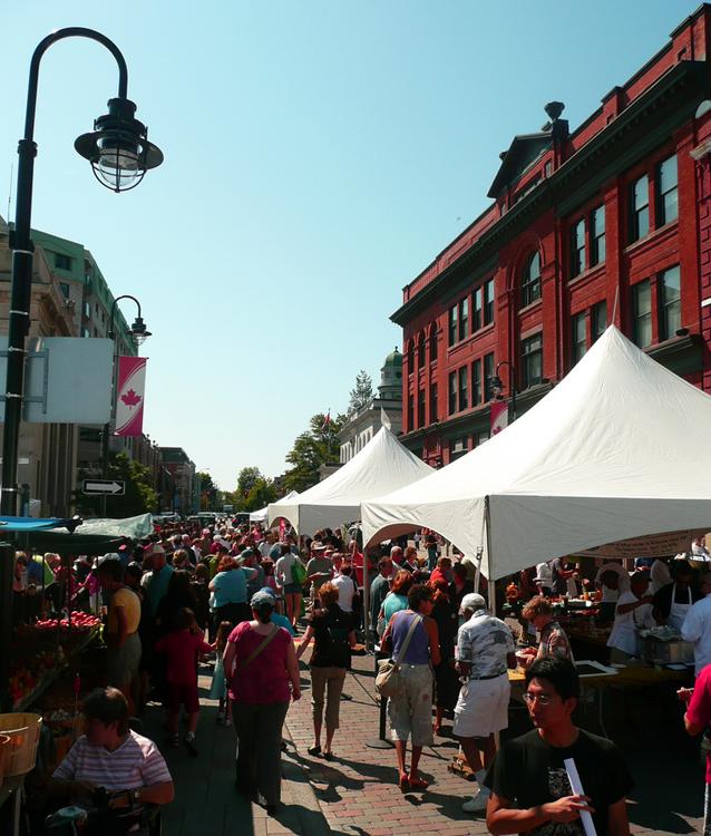 Fare on the Square, Kingston, Ontario