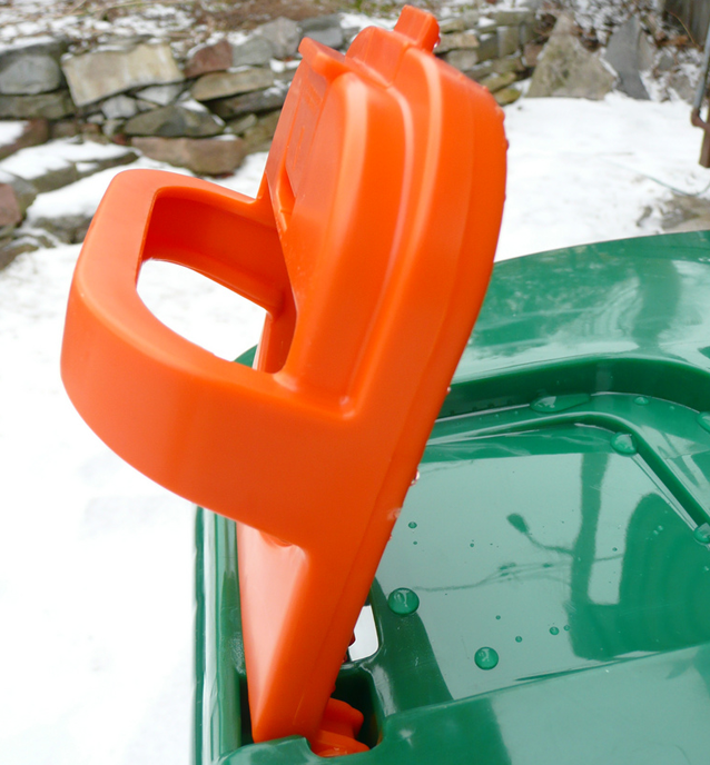 winterize green bin, organic waste recycling in the winter, green bin tips