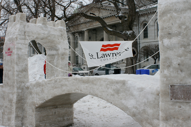 Feb Fest, 24 Hour Snow Sculpture Competition, Winter Festival, Kingston, Ontario