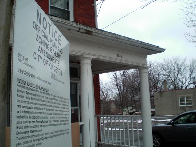 Williamsville, Frontenac Street, Patry Enterprises Inc, Kingston neighbourhood association