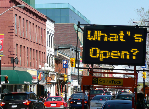 Death of downtown, store vacancies, commercial property, Kingston, Ontario