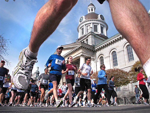 Limestone Half Marathon, Kingston, Ontario