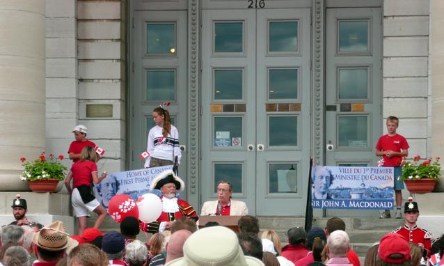 Canada Day 2010, Harvey Rosen, Kingston, Ontario
