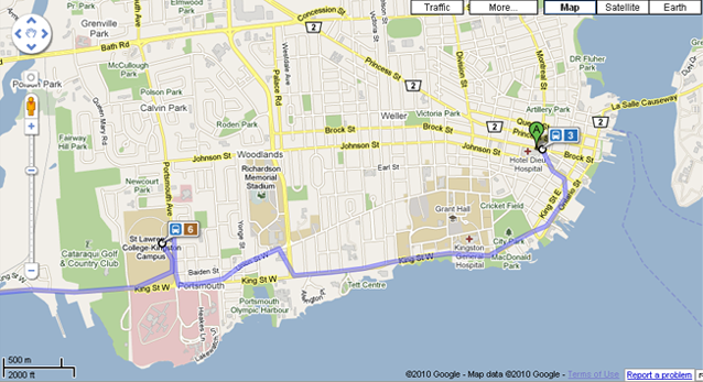 All Aboard Google Transit - Kingston News