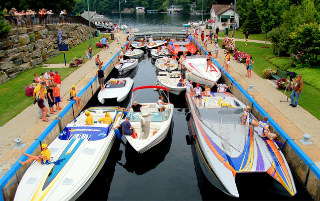 1,000 Islands Poker Run, Kingston, Ontario