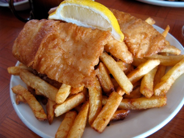 The Pilot House, fish and chips, 265 King St. East, Kingston