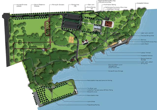 Lake Ontario Park Master Plan, Kingston, Ontario
