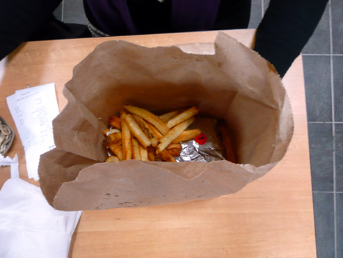 Five Guys Burgers and Fries, Kingston, Ontario