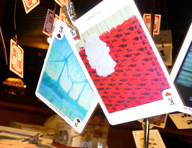 Modern Fuel, Minotaur, Art Cards, Kingston, Ontario