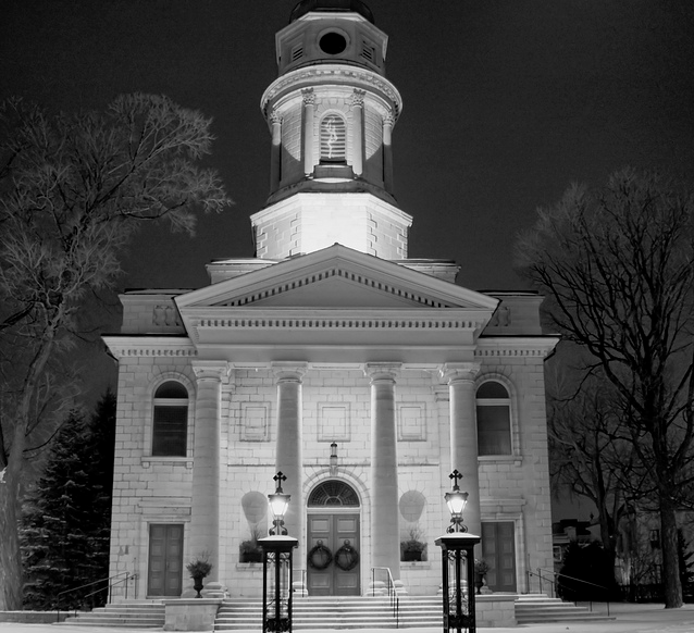 St. George's Cathedral, downtown Kingston, music
