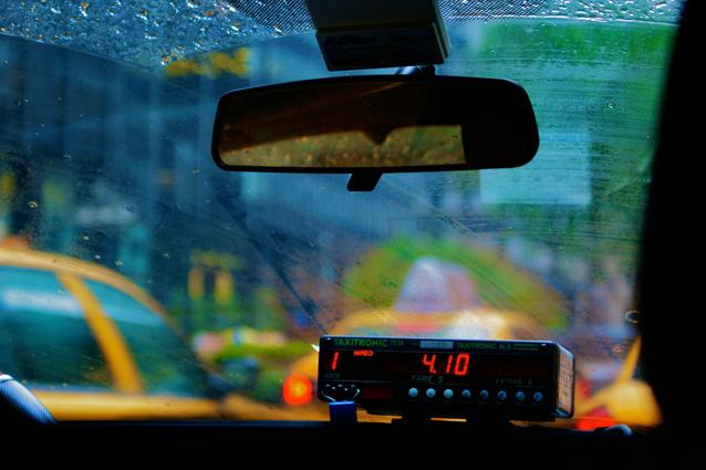 taxi cab, Kingston, Ontario