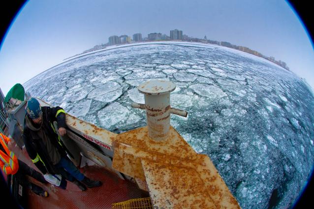 Wolfe Island Ferry, Kingston, Ontario