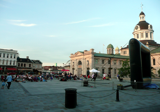 Movies in the Square, outdoor movies, City Hall, Market Square, Kingston, Ontario