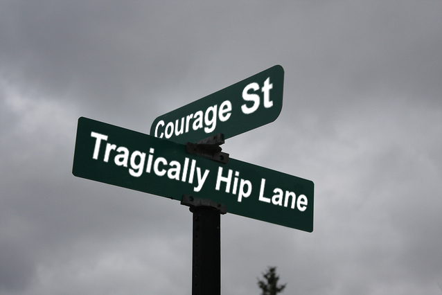Tragically Hip Street Honour