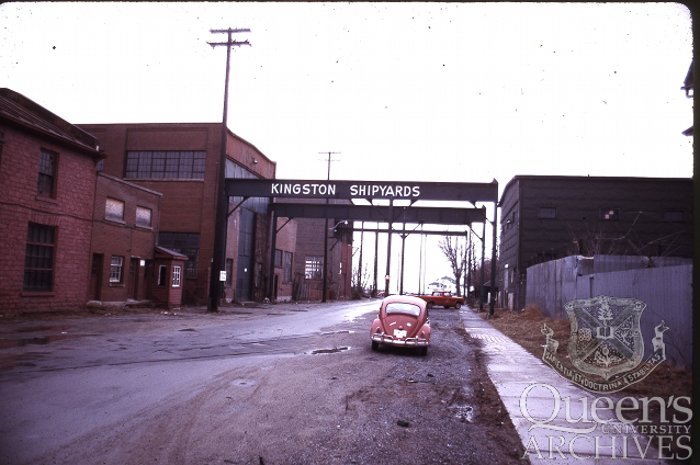 Joseph Arlie Robb fonds. Kingston Shipyards (V036.9), 1968