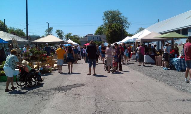 Memorial Centre, Farmers Market, crafts, Kingston, Ontario