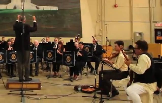 Sheesham and Lotus, The CFB Vimy Band
