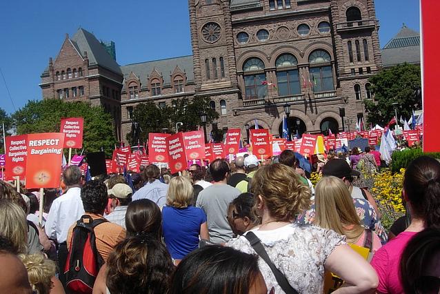 Limestone District School Board, teachers strike, contract negotiations, Kingston, Ontario