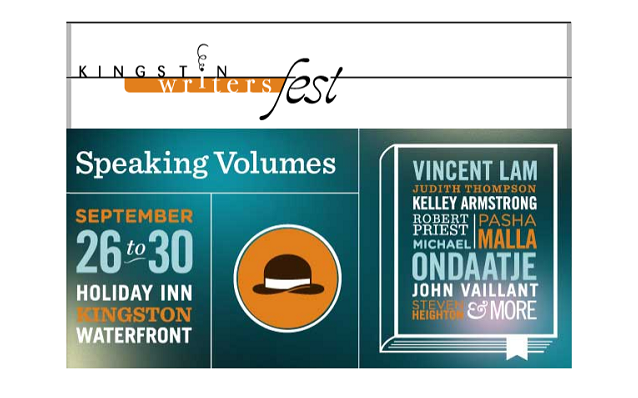 Writersfest, Kingston, ON, Holiday Inn, KFPL, Grand Theatre