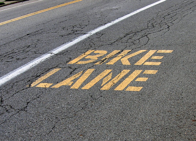 bike lanes, Williamsville, Kingston, Ontario
