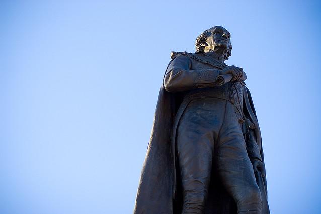 Sir John A. Macdonald statue, Kingston, Ontario