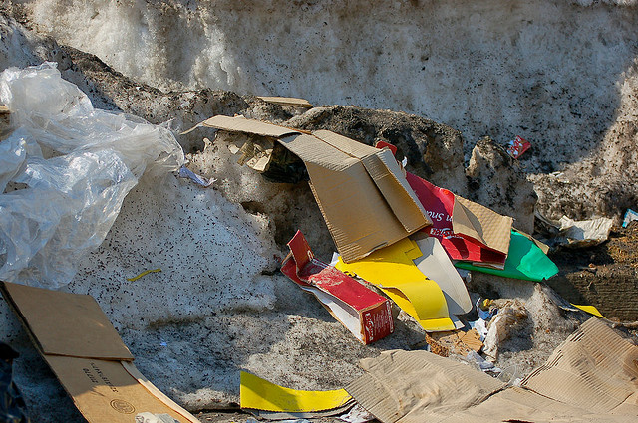 garbage pickup, cleanup litter