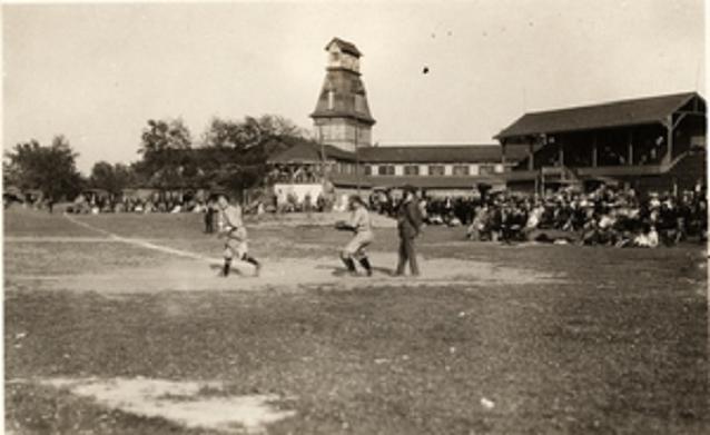 The Kingston Crystal Palace, baseball, Palace Road