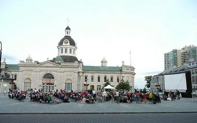 Movies in the Square, Downtown Kingston, Kingston, Ontario