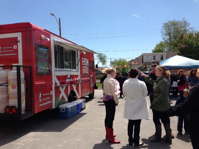 Farm Girl Mobile Food Company, Kingston's first gourmet food truck