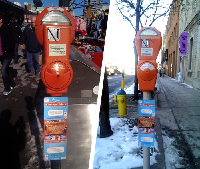 kindness, meters, homeless, panhandle, Kingston, Ottawa