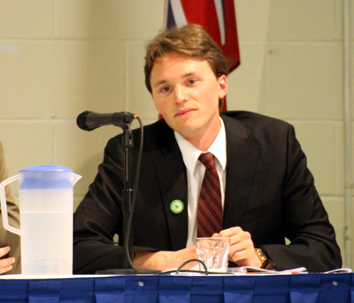 Robert Kiley, Green Party, MPP candidate, Kingston and the Islands