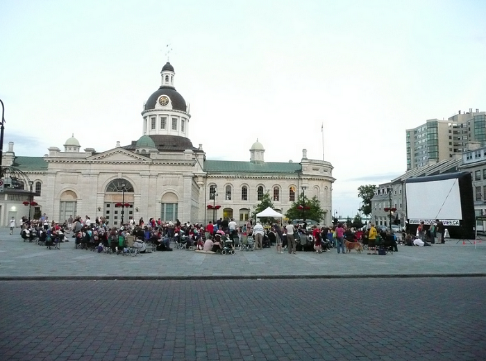 Movies In The Square, Downtown Kingston