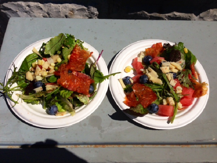 chef demo, market square, clark day, aqua terra, kingston, ontario