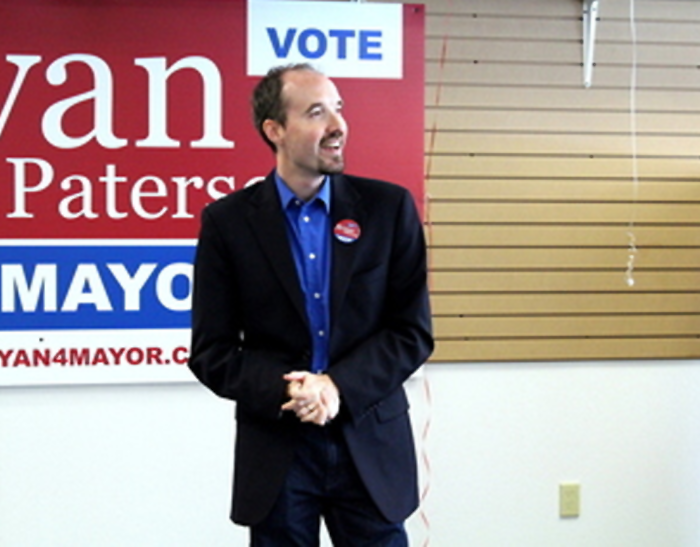 Bryan Paterson, 2014 municipal election, mayor, Kingston, Ontario
