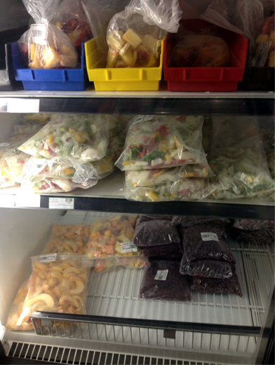 Grocery Checkout Fresh Market, Queen's University, ARC, Kingston, Ontario