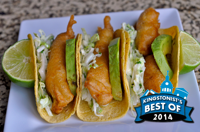 best fish tacos in Kingston