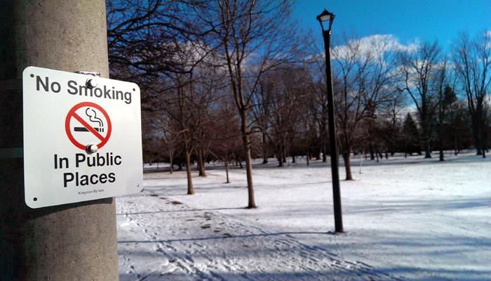 Smoke-Free Ontario Act, Kingston, Ontario, smoking laws