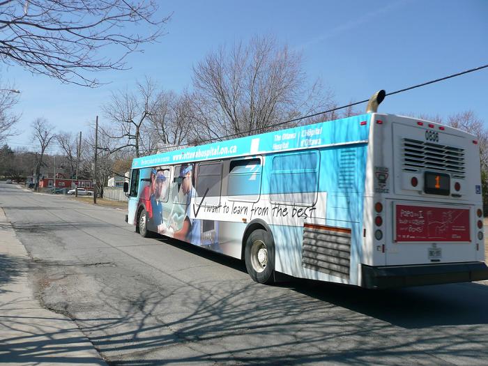 Kingston Transit, express buses, Rack and Roll, Kingston, Ontario