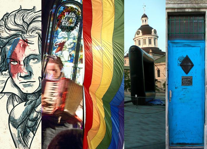 Skeleton Park Arts Festival, Kingston Pride Parade, Movies in the Square, Doors Open Kingston, Kingston, Ontario