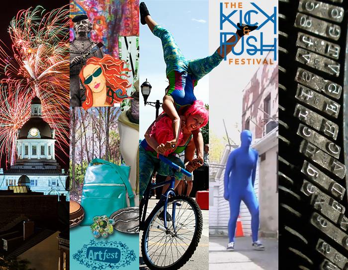 Art Fest, Canada Day Celebrations, Art Fest, Buskers Rendezvous, The Kick & Push Festival, Limestone Genre Expo, Kingston, Ontario