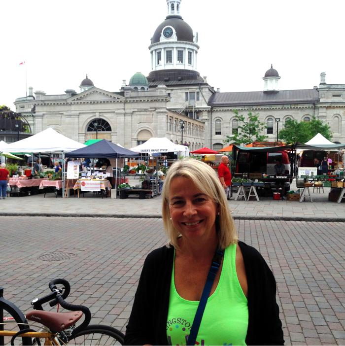 Jan MacDonald, Local Food Local Chefs, Downtown Kingston!