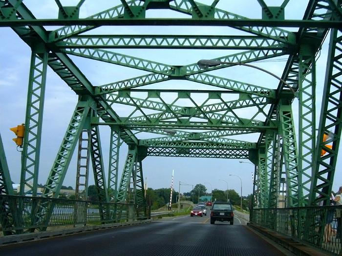 LaSalle Causeway closure, third crossing, Kingston, Ontario