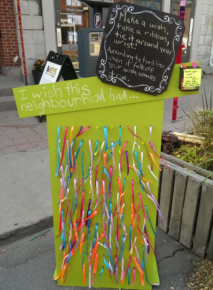 Sydenham Street Revived, pop up park, Kingston, Ontario